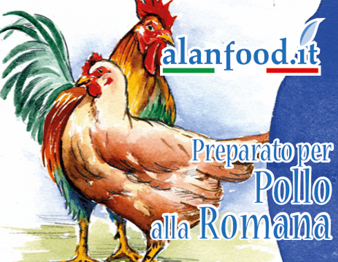 Preparato per Pollo alla Romana AlanFood