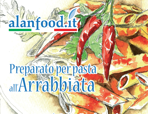 Preparato per pasta all'Arrabbiata AlanFood