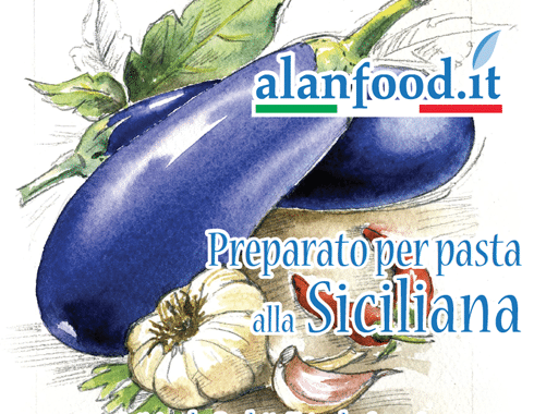 Preparato per pasta alla Siciliana AlanFood
