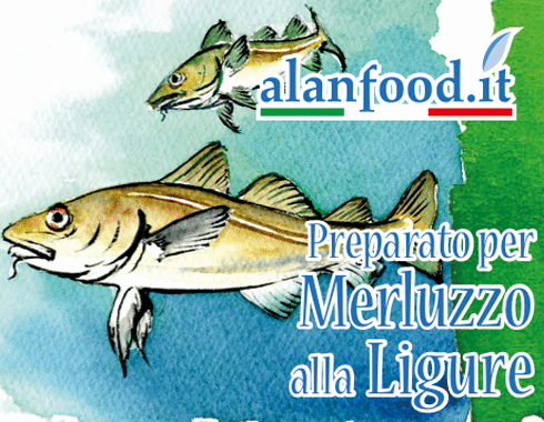 Preparato per Merluzzo alla Ligure AlanFood