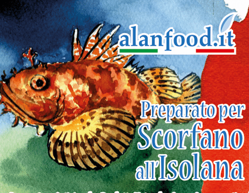 Preparato per Scorfano all'Isolana AlanFood